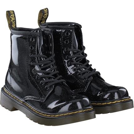 Dr. Martens - 1460  Glitter Junior in schwarz