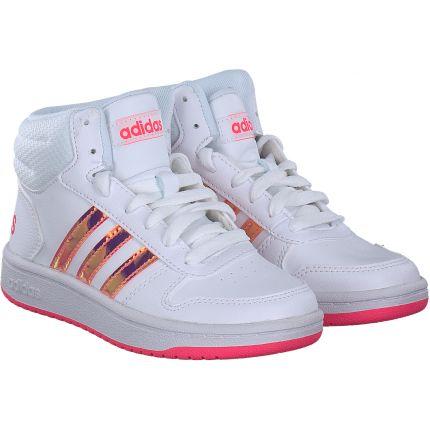 Adidas - Hoops MID 2.0 K in weiß