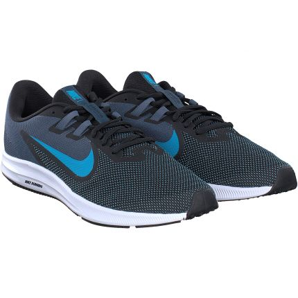Nike - Nike Downshifter 9 in schwarz-blau
