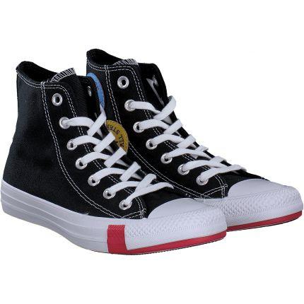 Converse - All Star-HI in schwarz