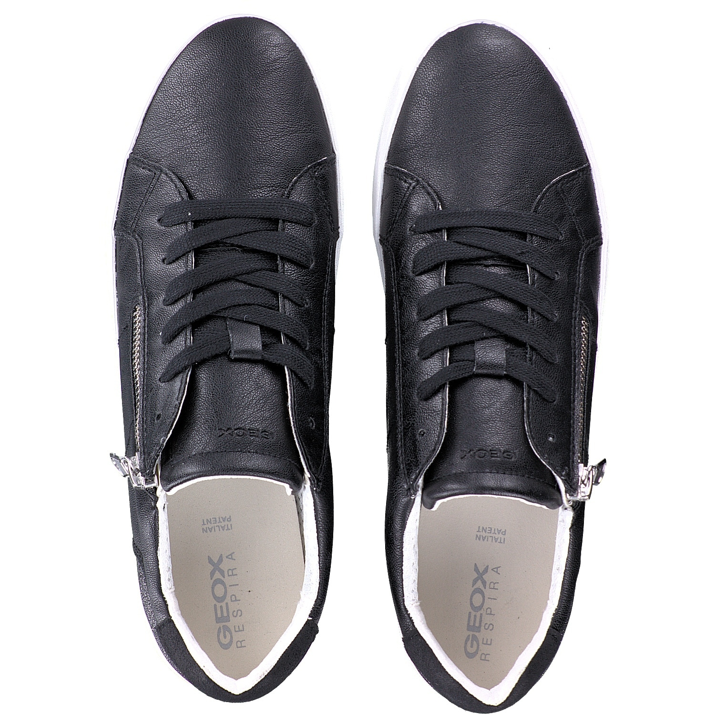 Geox BLOMIEE Schuhe Damen Sneakers in schwarz D026HA 0PVEW C9270 CKw3x