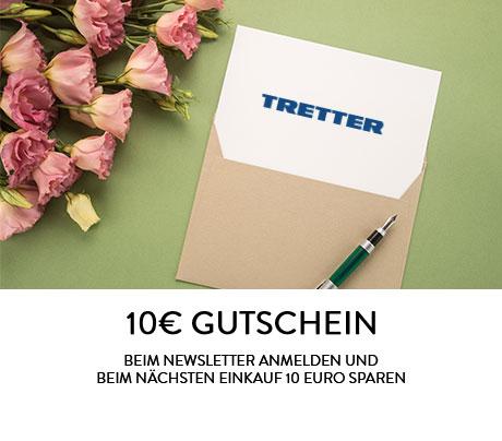 10€ Gutschein für TRETTER