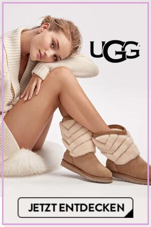 Model Rosie mit UGG-Boots